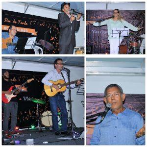 Pedro de Rosa Morais, Rita Pinto, Dário Moreira e Fernando de Oliveira emocionaram a plateia no palco do Sindimed
