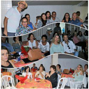 Funcionários, médicos e demais convidados de mais um Fim de Tarde curtiram as apresentações