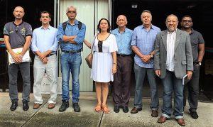Magalhães foi ao CAB com lideranças dos fazendários, policiais, Sindisaúde e Associação dos funcionários Públicos