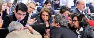 Parlamentares decidiram que haverá duas audiências públicas sobre o tema no dia 27 (Foto: Edilson Rodrigues/Agência Senado)