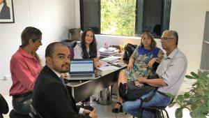Francisco Magalhães e Claudia Bezerra discutiram com gestores municipais