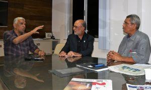 Darze iniciou em Salvador sua visitação a capitais brasileiras, sendo recebido por diretores do Sindimed
